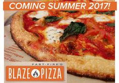 Blaze Pizza Coming Soon!